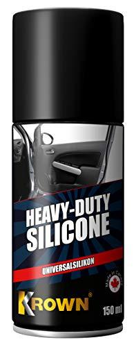 Krown Heavy Duty Silicone - Spray de Silicona para el Cuidado de la Goma