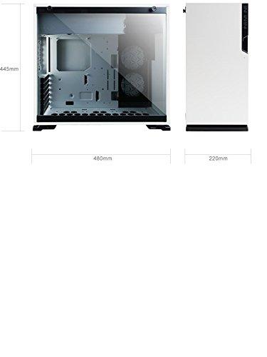 In Win 101C Midi-Tower Weiß - Computer-Gehäuse (Midi-Tower, PC, Acrylnitril-Butadien-Styrol (ABS), SECC, Gehärtetes Glas, Weiß, ATX,Micro ATX,Mini-ITX, Multi)