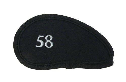 ダイヤ(DAIYA) アイアンカバー411 バラ売りモデル 黒 [58] HC-411