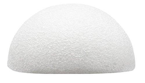 Konjac Schwamm von Baviphat® - White Clay Sponge - 100 % Natur pur - Reinigung für die Haut