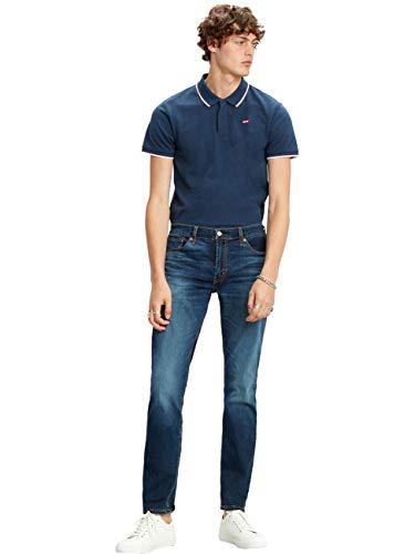 Levis® 511® Jeanshose pour homme Coupe slim – Bleu W30-W38 jeans stretch 77 % coton - Bleu - W31