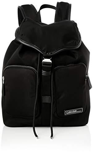 Calvin Klein Damen PRIMARY Backpack Lg Rucksack Schwarz (Black)