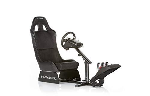 Playseat Evolution - Alcantara - REM.00008 - Siège baquet pour simulation de sport automobile compatible avec la plupart des volants et pédaliers du marché