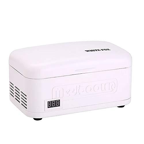 SIERINO Tragbare Insulin Kühlbox - Refrigerated Box mit Hoher Kapazität USB Aufgeladener Kühlbox für Kleinwagen Mini Intelligente Elektrische Kühlschrank Kühltasche Thermostat