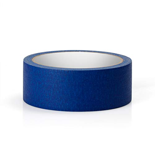 Blue Masking Tape, 16 Roll Multi Purpose Painter Tapes, 1.4 Inch/36 mm Wide,Medium Adhesive Masking Tape with No Residue Behind, 10 Yard/Roll Photo #2