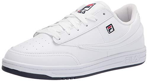 Fila mens Men's Fila Tennis 88 Sneaker, White/Navy/Red, 10 US