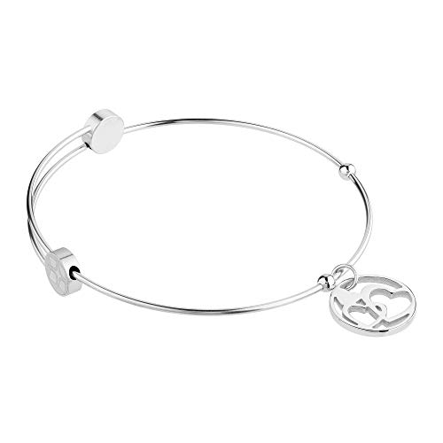Ernstes Design Armreif Edelstahl A309 mit Herz Herzen Armband