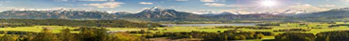 CopyDrive Modellbahn-Hintergrund Alpen 5 m bis 7 m lang (0,6 m bis 0,84 m hoch) auf 120 gr. Papier oder 440 gr.PVC-Planenfolie (3,33 x 0,40 m PVC-Plane)