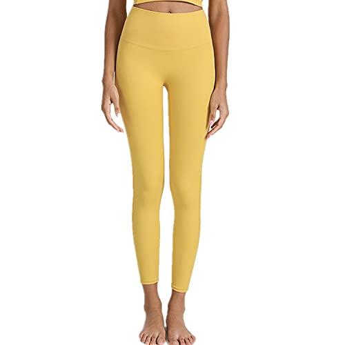 N\P Cintura alta desnuda sensación de bolsillo pantalones de yoga de las mujeres apretado levantamiento de la cadera correr pantalones de fitness ropa de yoga de las mujeres