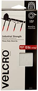 Velcro 4ft x 2in Strength Indoor & Outdoor Use Superior Holding Power