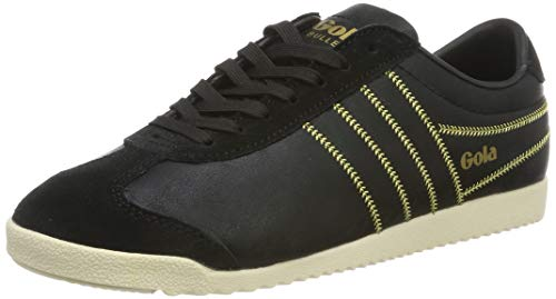 Gola Damen Cla968 Sneaker, Schwarz (Black/Gold by), 36 EU