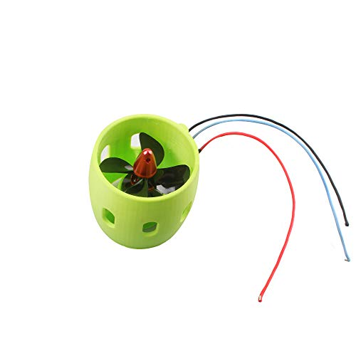 COLOR TREE 12-24V DIY Modell Brushless RC Boot Motor Unterwasser Thruster mit Propeller Fit für RC Boat AUV Robot