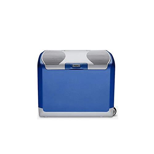 40L Portable Mini koelkast 12v 220v, Electric Cool Box Car koelkast, Capacity auto en thuis for tweeërlei gebruik een warm en koud for tweeërlei gebruik Silent Design (Kleur: A) LOLDF1 (Color : A)
