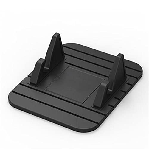 USNASLM Soporte universal del teléfono móvil del coche del silicón, para el iPhone Samsung Xiaomi Huawei, para Skoda Octavia A7 Rapid Fabia Car GPS Stand