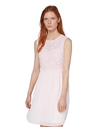 TOM TAILOR Damen 1010629 Kleid, Rosa (Powder Pink 17289), L
