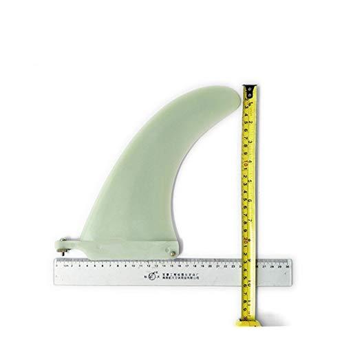 Accesorios de Tablero de Remo Tabla de Surf Larga Aleta 7/8/9 Longitud Centro Aletas Aleta Tabla de Surf Titular de la Tabla de Surf (Color : 8 Length)