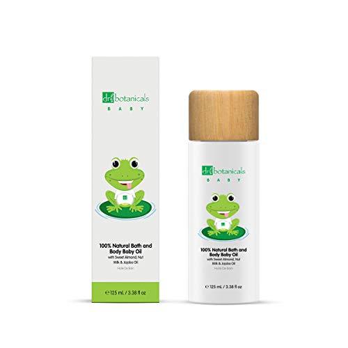 Dr Botanicals Aceite de semilla de jojoba Aceite corporal relajante para bebés