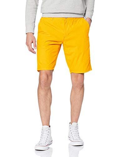 Pantalones amarillos cortos para hombre