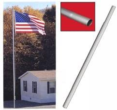 Bottom Replacement Section for Sectional Flag in. 4 8 Poles ft. Cheap mail order sales Limited time sale