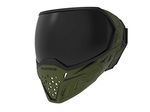 Empire EVS Paintball Mask/Goggle - 2 Thermal Lenses Olive/Black