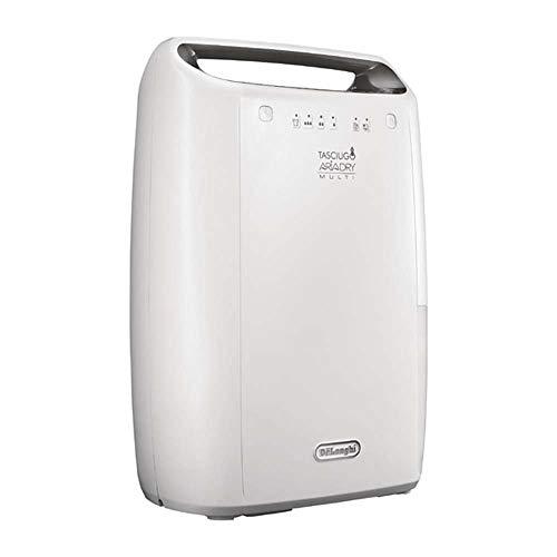 De'Longhi DEX214F Tasciugo AriaDry Deumidificatore Ambiente Casa, 290 W, 14 Litri, 37 Decibel, Plastica, Bianco