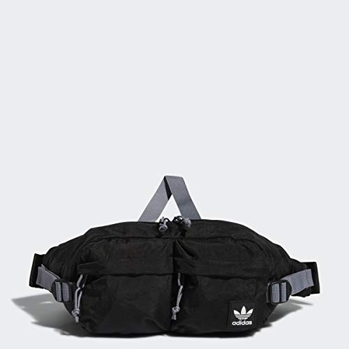 adidas Originals Unisex Urban Utility II Crossbody Bag, Black/Grey, ONE SIZE