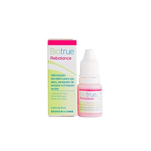 Biotrue® Rebalance - Lubricante ocular y humectante para lentes de contacto - 1 unidad 10 ml
