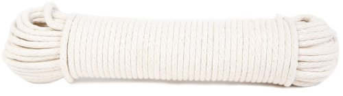 Koch 5600825 Braided Cotton/Poly Sash Cord, Trade Size 8 by 100 Feet, White by Koch (English Manual)