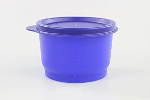 TUPPERWARE Kinder Kunterbunt 120 ml NEON blau (1) Box Dosen Behälter P 18518