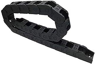 WNJ-TOOL, 1 st 1 meter 25x25 Plastic Drag Chain Bridge Open Aan beide zijden Draad Carrier Kabel Met Connector Voor CNC Ro...