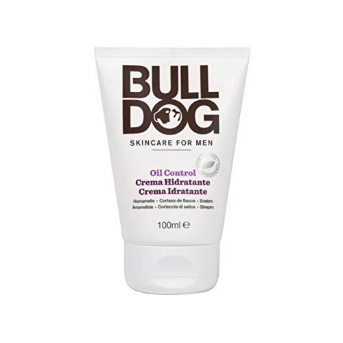 BULLDOG SECURITY Cuidado Facial para Hombres - Crema Hidratante Anti Grasa 100 Ml 100 ml
