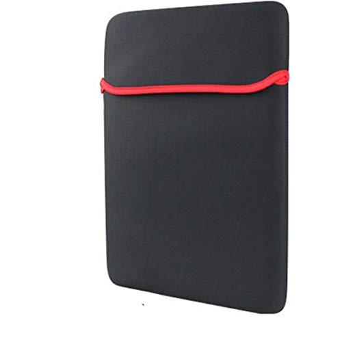 healthwen Funda Universal para Tableta portátil Funda Ultra Suave a Prueba de Agua con protección Completa Funda Protectora a Prueba de Golpes para PC portátil Negro 7'