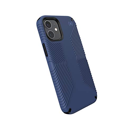 Speck Products Presidio2 - Custodia per iPhone 12 mini, colore: Blu/Nero/Blu tempesta
