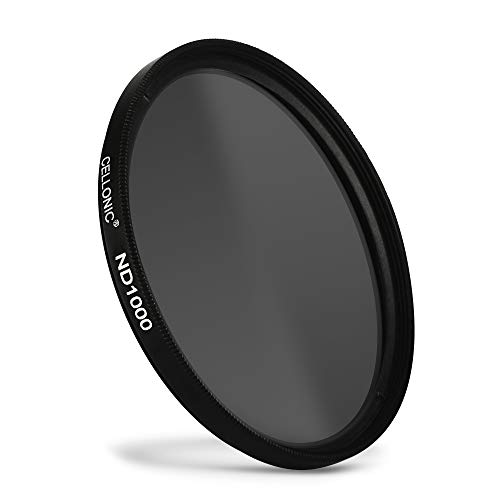 CELLONIC® Filtro Densità Neutra ND1000 Compatibile con Tokina Ø 77mm Filtro Grigio