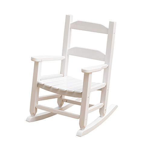 BampZ KD21W Child#039s Rocking Chair Porch Rocker Wooden Classic Indoor Outdoor Age 36