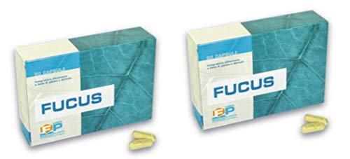Pure Fucus Concentrate Fat Burner 2 Packungen mit 60 Kapseln, die die Drainage abnehmen 100% Pflanze basierend auf assimilierbarem Jod Nützlich als Starter in kalorienarmen Diäten