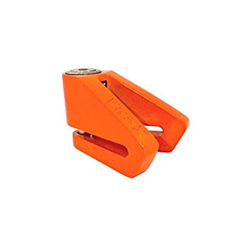 Xena - Antivol Moto Bloque Disque X2 Orange 14mm - Homologué SRA & Art