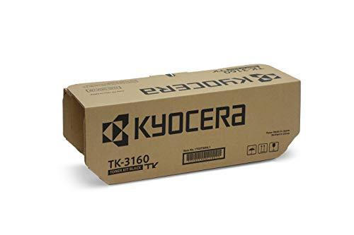 Kyocera TK-3160 Original Toner-Kartusche 1T02T90NL1. Kompatibel für ECOSYS M3145dn, ECOSYS M3645dn, ECOSYS P3045dn, ECOSYS P3050dn, ECOSYS P3055dn, ECOSYS P3060dn, schwarz
