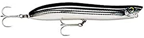 Rapala MaxRap Walk'n Roll Lure with Two No. 2 Hooks, Surface Swimming...
