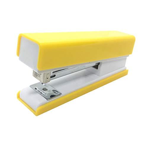 engrapadora Grapadora amarilla Grapadoras manuales de escritorio para útiles escolares de oficina...