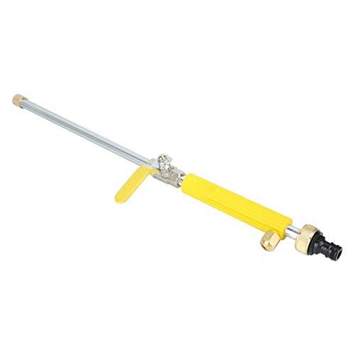 Demeras Pulverizador de agua Limpieza Lavadora Spray para lavado de coches (amarillo)