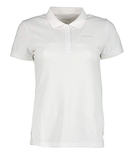 ICEPEAK Poloshirt für Damen Bayard, weiß, XL