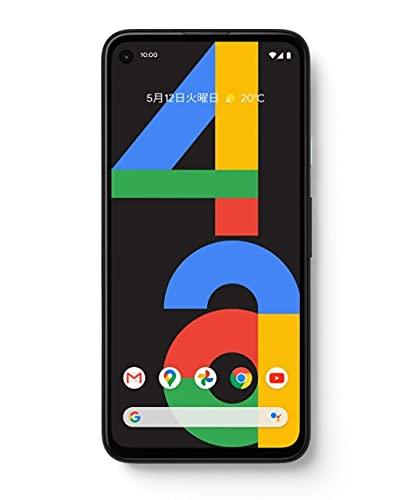 国内SIMフリーGoogle Pixel 4a 128GB Just Black ブラック スマートフォン本体