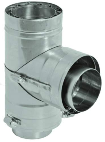 DuraVent W2-T4 Stainless Shipping included Seattle Mall Steel FasNSeal Wall Inch 4 Stand Double