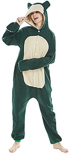 Pijamas Unisexo Adulto Cosplay Traje Disfraz Animal Pyjamas Ropa de Dormir Halloween y Navidad