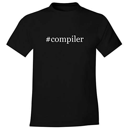 #snuggs - Men's Soft Comfortable Hashtag Short Sleeve T-Shirt, Black, XX-Large