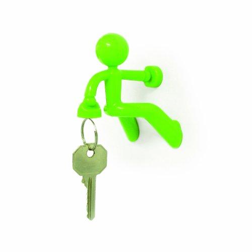 Sannysis Key Pete Strong Magnetic Key Holder Hook Rack Magnet -Green