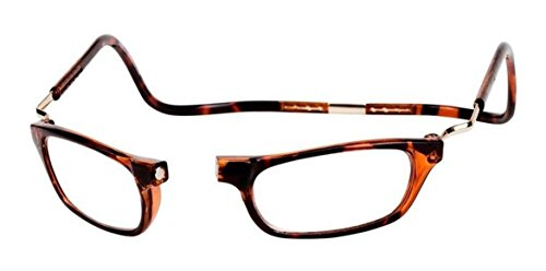Clic XXL Magnetic Reading Glasses in Tortoise, 1.50