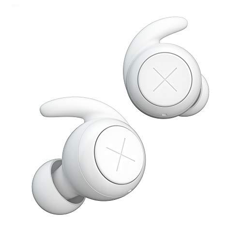 Kygo E7/1000 True Wireless Kopfhörer (Bluetooth 5.0, bis zu 24 h Wiedergabe, IPX7 Wasserfest, Mikrofon, AAC Sound, automatisches Pairing) Weiß