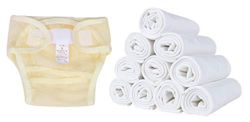DEMU herbruikbare wasbare trainingsbroek babyluiers baby luierbroek baby-doek luier zachte stof